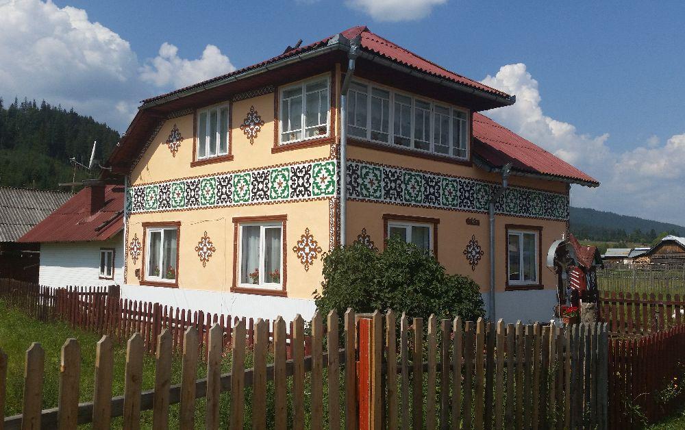 adelaparvu.com despre Ciocanesti, case cu motive traditionale, Bucovina, Romania (125)