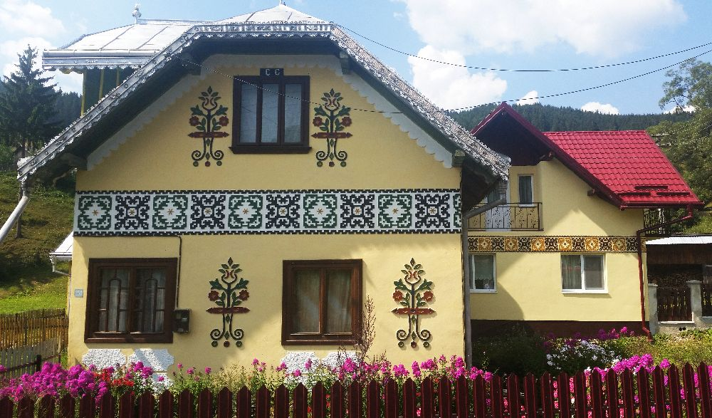 adelaparvu.com despre Ciocanesti, case cu motive traditionale, Bucovina, Romania (126)