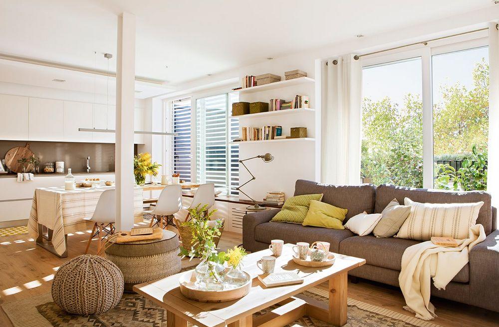adelaparvu.com despre amenajare apartament 67 mp cu birou pe hol, design interior arh Mar Macos, Foto ElMueble (1)
