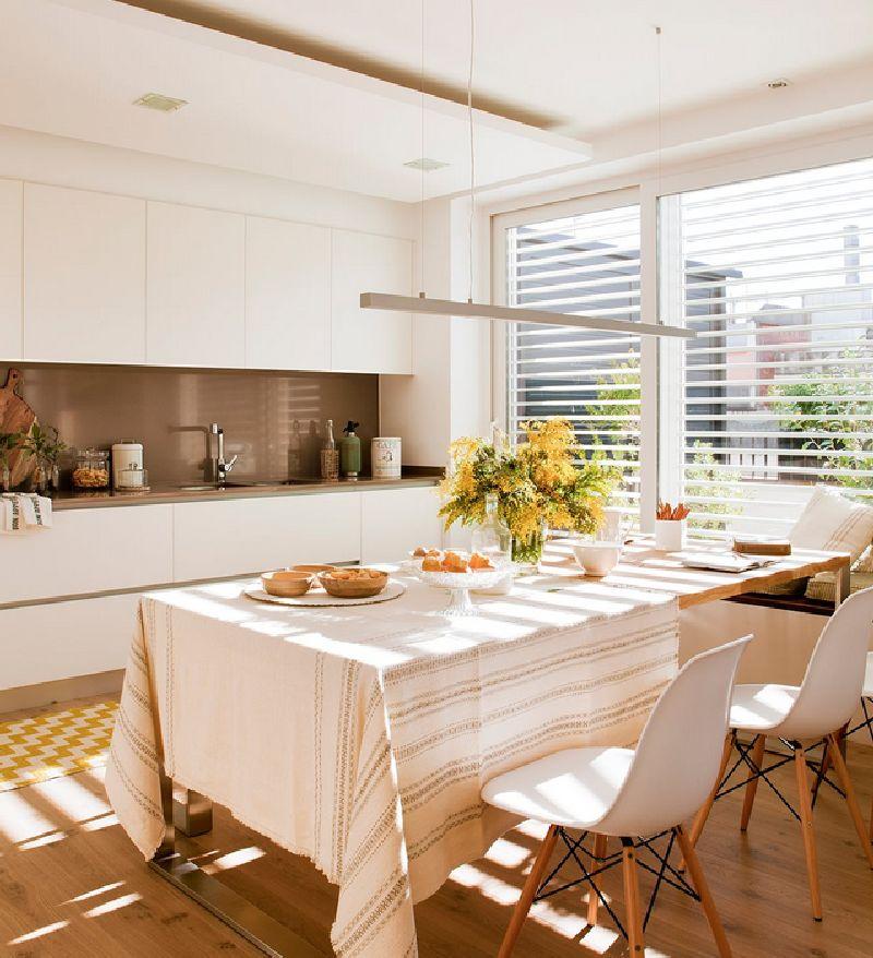 adelaparvu.com despre amenajare apartament 67 mp cu birou pe hol, design interior arh Mar Macos, Foto ElMueble (2)