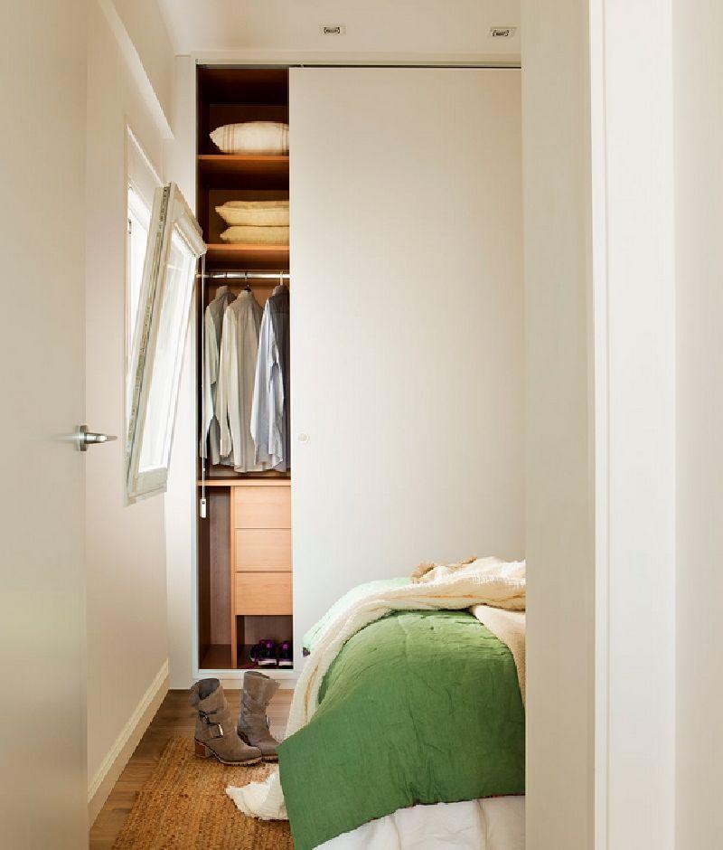 adelaparvu.com despre amenajare apartament 67 mp cu birou pe hol, design interior arh Mar Macos, Foto ElMueble (8)
