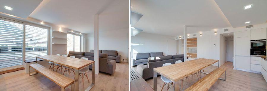adelaparvu.com despre amenajare apartament 67 mp cu birou pe hol, design interior arh Mar Macos, Foto Mar Macos (13)