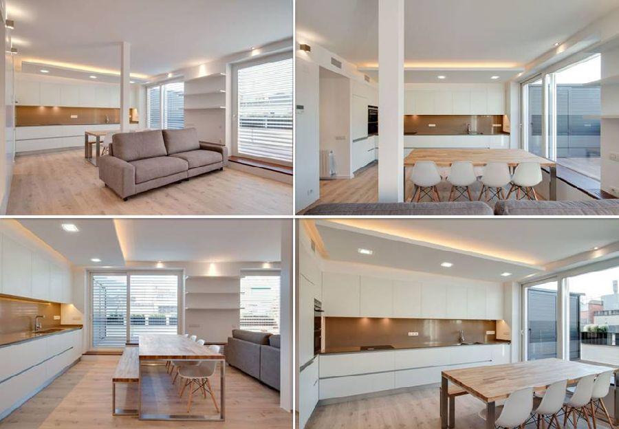 adelaparvu.com despre amenajare apartament 67 mp cu birou pe hol, design interior arh Mar Macos, Foto Mar Macos (14)