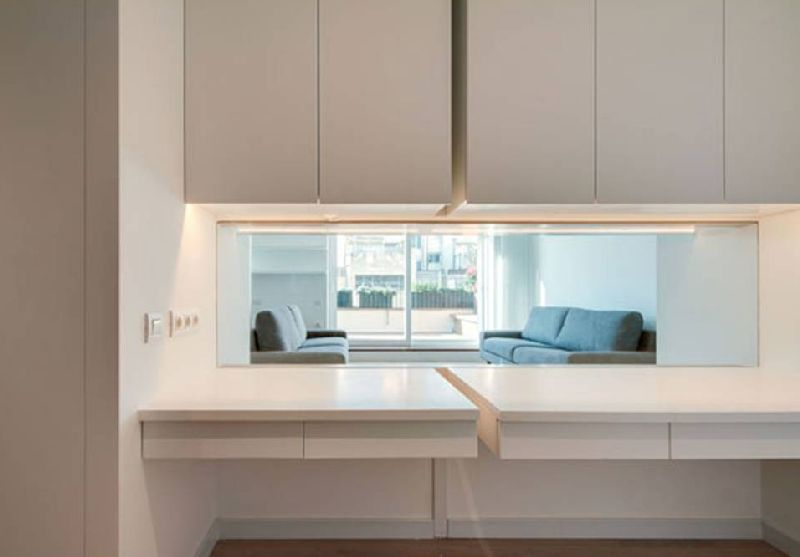 adelaparvu.com despre amenajare apartament 67 mp cu birou pe hol, design interior arh Mar Macos, Foto Mar Macos (15)