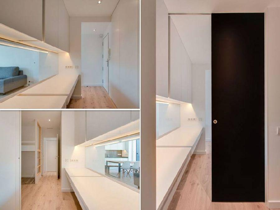 adelaparvu.com despre amenajare apartament 67 mp cu birou pe hol, design interior arh Mar Macos, Foto Mar Macos (16)