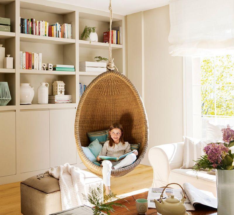 adelaparvu.com despre apartament elegant 60 m, locuinta Spania, designer Marta Prats, Foto ElMueble (3)