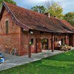 adelaparvu.com despre casa din caramida, rustica la exterior, actuala la interior, design Loft Architekci, Foto  Michael Mrowiec (10)
