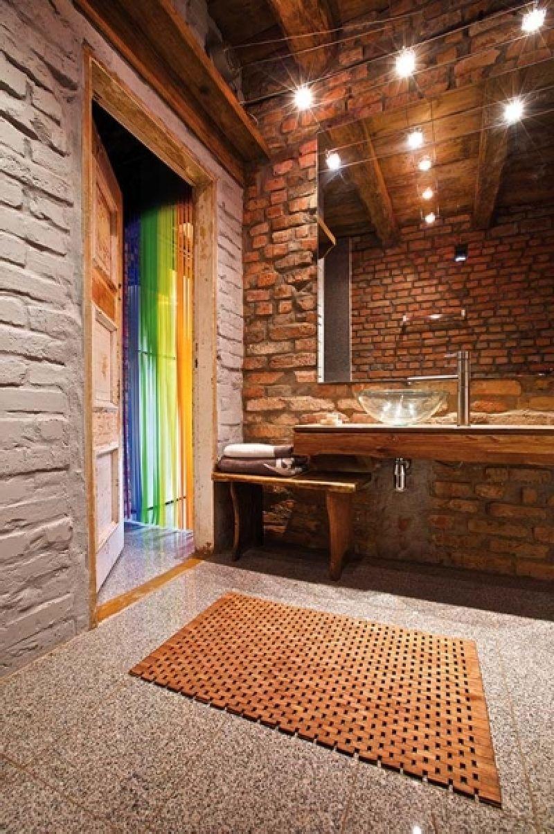 adelaparvu.com despre casa din caramida, rustica la exterior, actuala la interior, design Loft Architekci, Foto Michael Mrowiec (7)