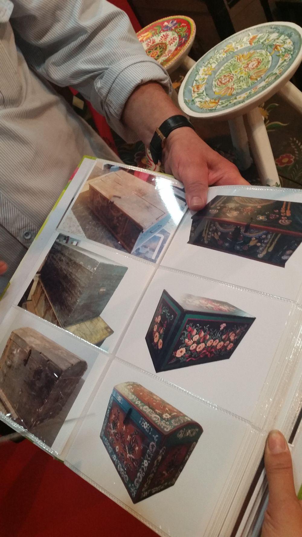 adelaparvu.com despre lazi de zestre si cufere pictate, Decofurniture (5)