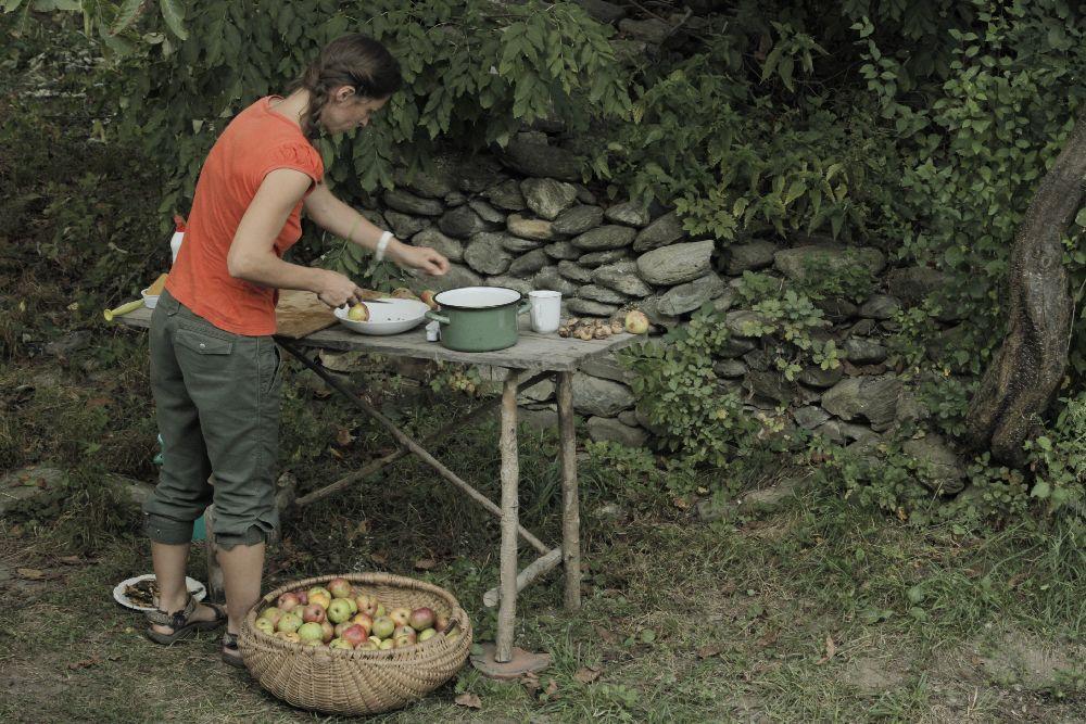 adelaparvu.com despre Alexandra Teodor si Stefan Carstea peisagistii care s-au mutat la tara in Cartisoara (15)