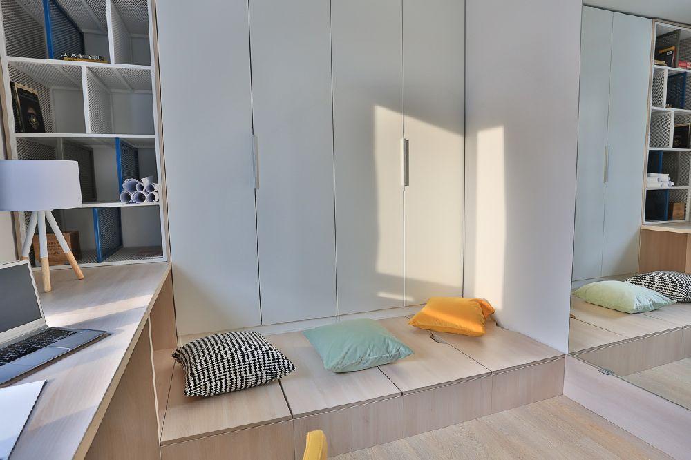 adelaparvu.com despre amenajare apartament 3 camere, The Park, Bucuresti, design interior arh Attila Kim, arh Bogdan Ciocodeica si arh Diana Rosu (13)