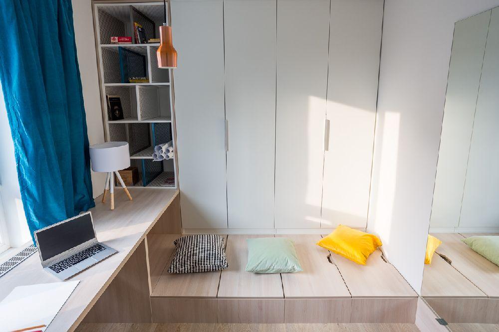 adelaparvu.com despre amenajare apartament 3 camere, The Park, Bucuresti, design interior arh Attila Kim, arh Bogdan Ciocodeica si arh Diana Rosu (14)