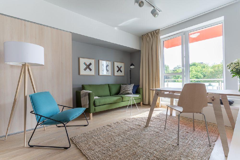 adelaparvu.com despre amenajare apartament 3 camere, The Park, Bucuresti, design interior arh Attila Kim, arh Bogdan Ciocodeica si arh Diana Rosu (2)