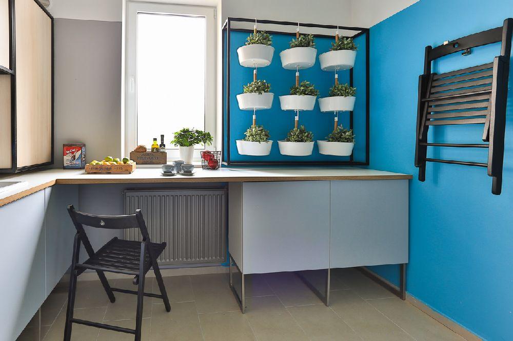 adelaparvu.com despre amenajare apartament 3 camere, The Park, Bucuresti, design interior arh Attila Kim, arh Bogdan Ciocodeica si arh Diana Rosu (20)
