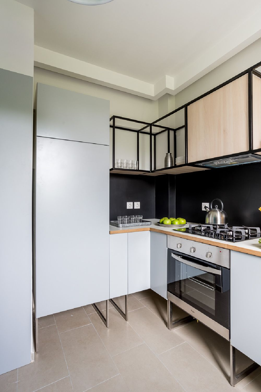 adelaparvu.com despre amenajare apartament 3 camere, The Park, Bucuresti, design interior arh Attila Kim, arh Bogdan Ciocodeica si arh Diana Rosu (21)