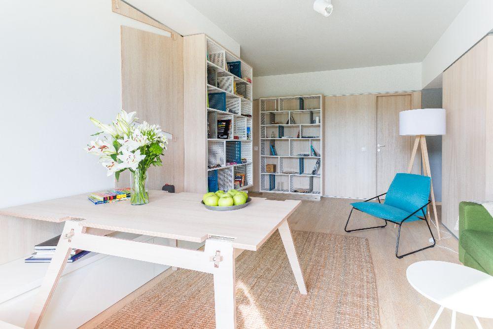 adelaparvu.com despre amenajare apartament 3 camere, The Park, Bucuresti, design interior arh Attila Kim, arh Bogdan Ciocodeica si arh Diana Rosu (28)