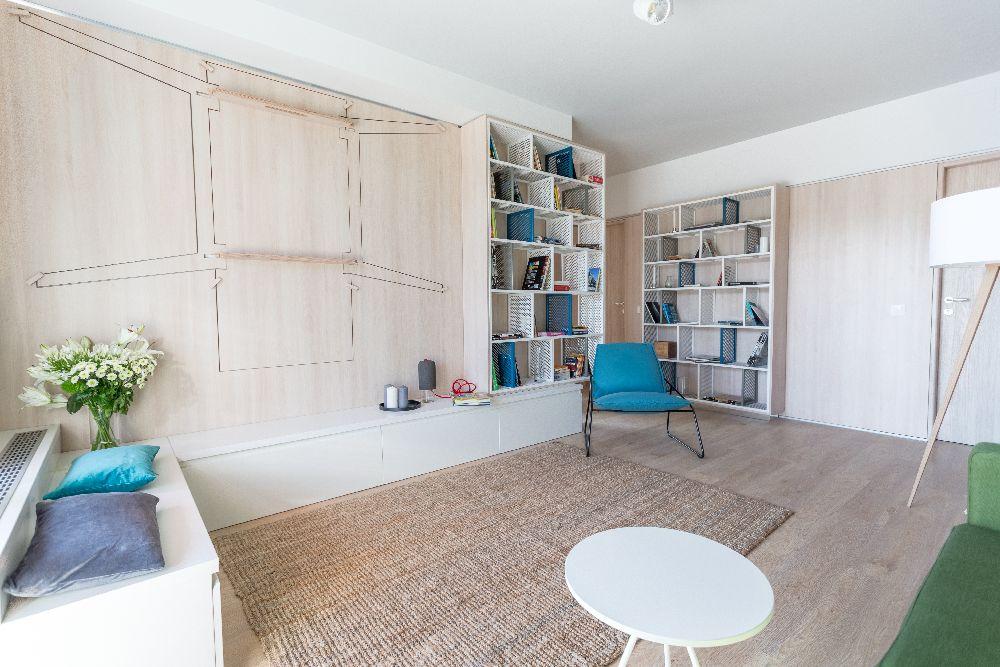 adelaparvu.com despre amenajare apartament 3 camere, The Park, Bucuresti, design interior arh Attila Kim, arh Bogdan Ciocodeica si arh Diana Rosu (29)