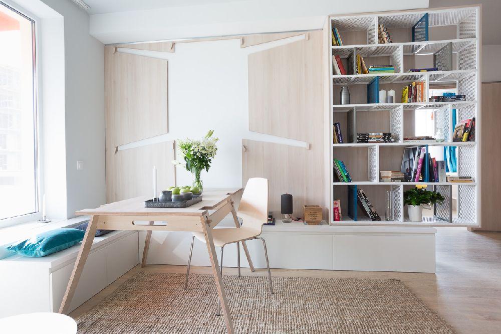 adelaparvu.com despre amenajare apartament 3 camere, The Park, Bucuresti, design interior arh Attila Kim, arh Bogdan Ciocodeica si arh Diana Rosu (3)