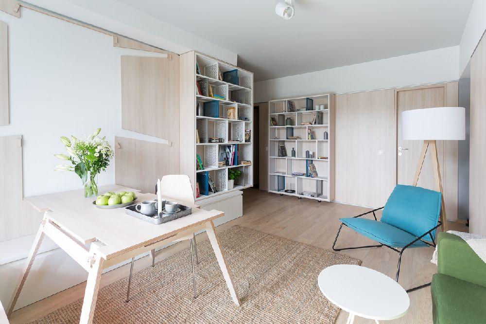 adelaparvu.com despre amenajare apartament 3 camere, The Park, Bucuresti, design interior arh Attila Kim, arh Bogdan Ciocodeica si arh Diana Rosu (5)