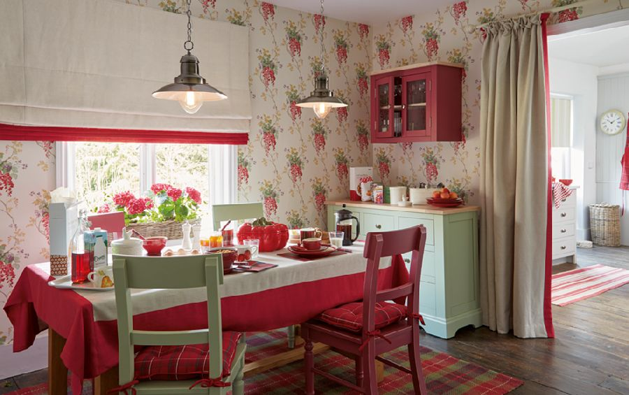 adelaparvu.com despre casa decorata in stil cottage, colecția Ambleside de la Laura Ashley, Foto Laura Ashley (2)