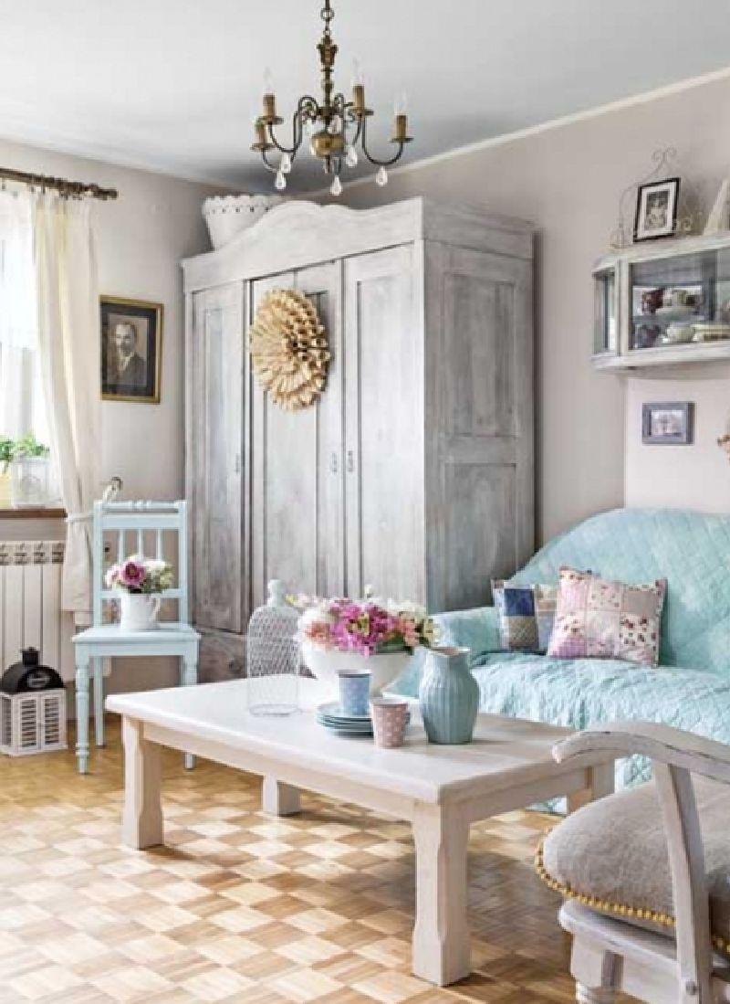 adelaparvu.com despre casa la tara in stil shabby chic, casa Polonia, Foto Dariusz Radej, Weranda Country (14)