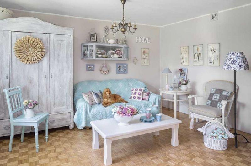 adelaparvu.com despre casa la tara in stil shabby chic, casa Polonia, Foto Dariusz Radej, Weranda Country  (7)