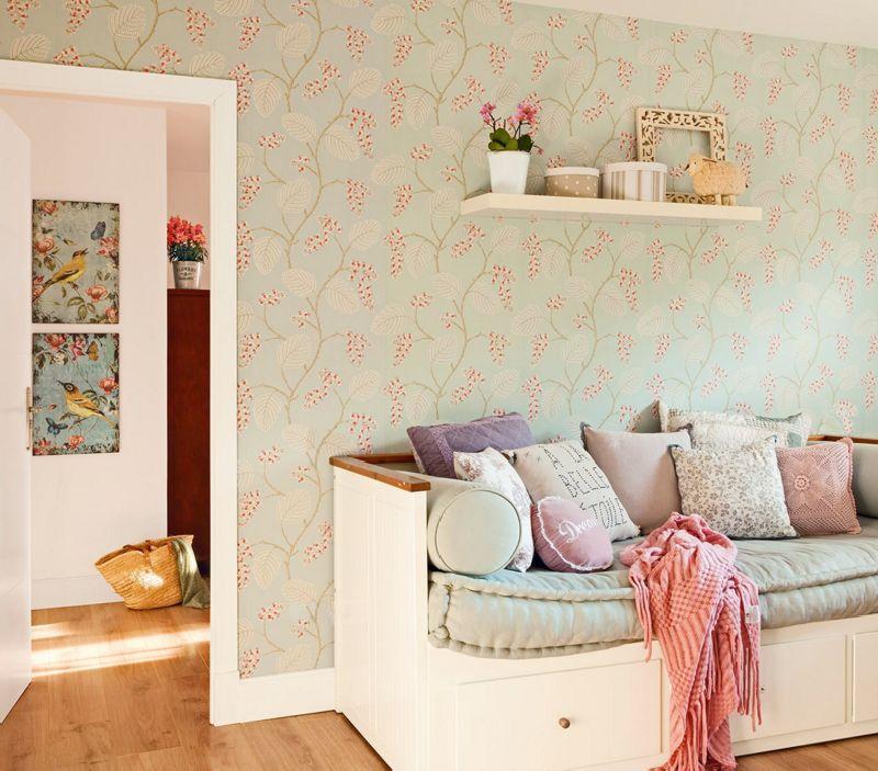 adelaparvu.com despre casa romantica in tonuri pastelate, casa Spania, design interior Isabel Flores, Foto ElMueble (10)