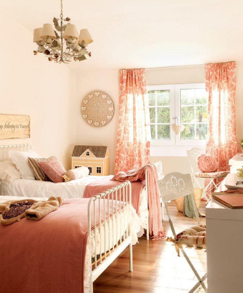 adelaparvu.com despre casa romantica in tonuri pastelate, casa Spania, design interior Isabel Flores, Foto ElMueble (11)