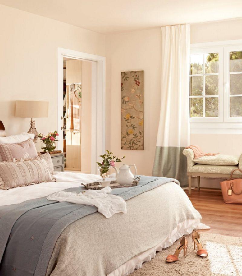 adelaparvu.com despre casa romantica in tonuri pastelate, casa Spania, design interior Isabel Flores, Foto ElMueble (14)