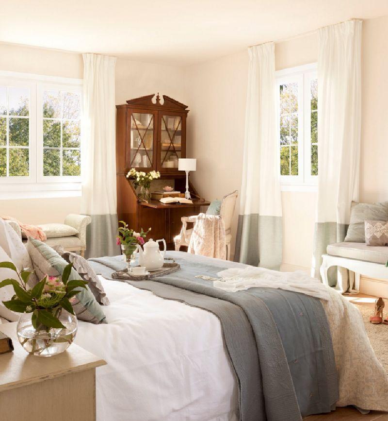adelaparvu.com despre casa romantica in tonuri pastelate, casa Spania, design interior Isabel Flores, Foto ElMueble (17)