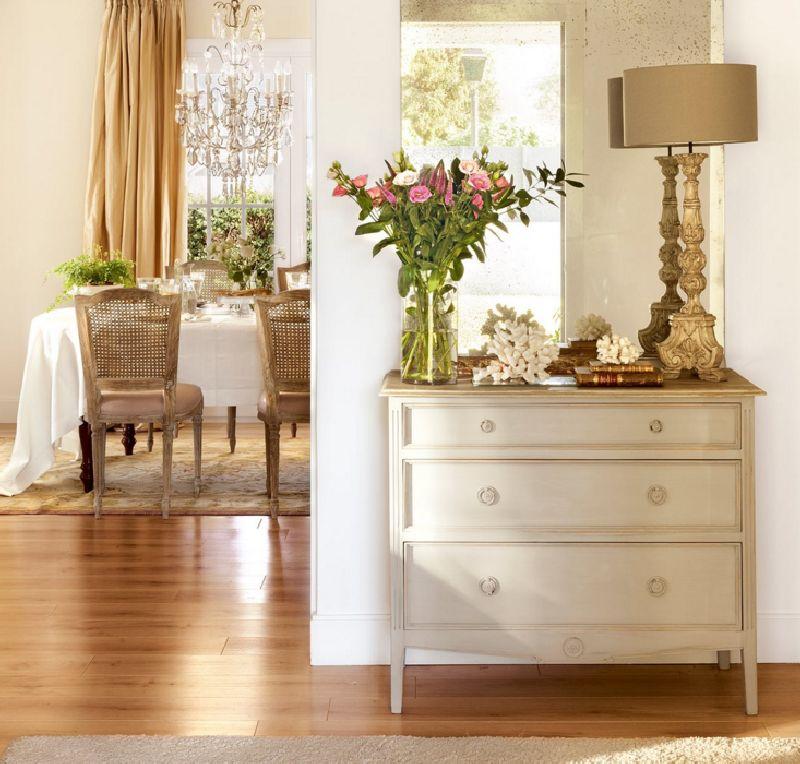 adelaparvu.com despre casa romantica in tonuri pastelate, casa Spania, design interior Isabel Flores, Foto ElMueble (2)