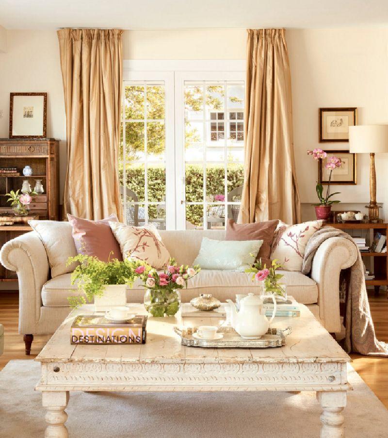 adelaparvu.com despre casa romantica in tonuri pastelate, casa Spania, design interior Isabel Flores, Foto ElMueble (4)