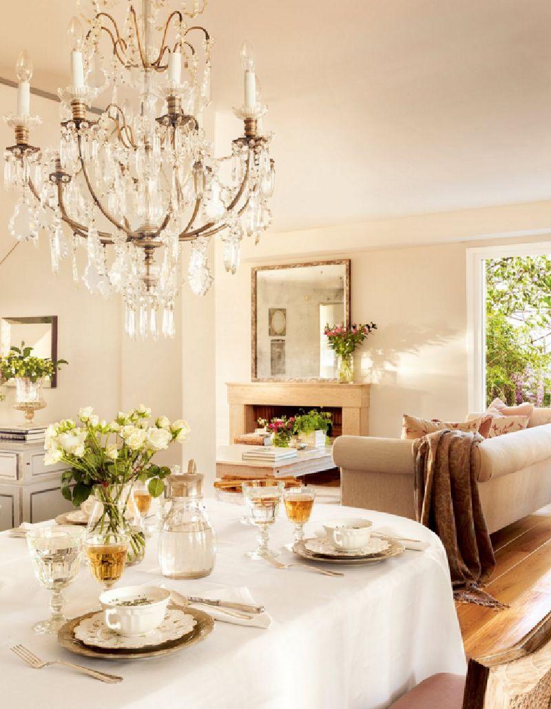 adelaparvu.com despre casa romantica in tonuri pastelate, casa Spania, design interior Isabel Flores, Foto ElMueble (5)