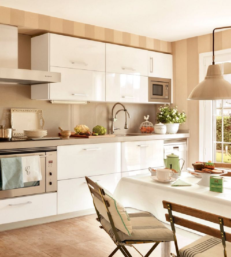 adelaparvu.com despre casa romantica in tonuri pastelate, casa Spania, design interior Isabel Flores, Foto ElMueble (8)