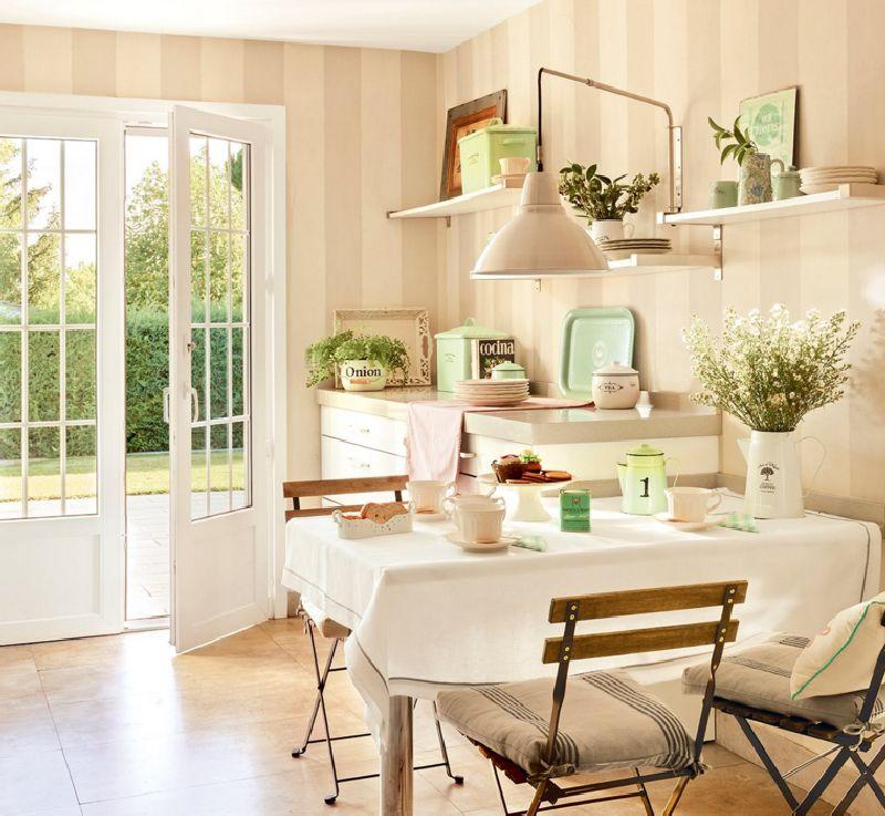adelaparvu.com despre casa romantica in tonuri pastelate, casa Spania, design interior Isabel Flores, Foto ElMueble (9)