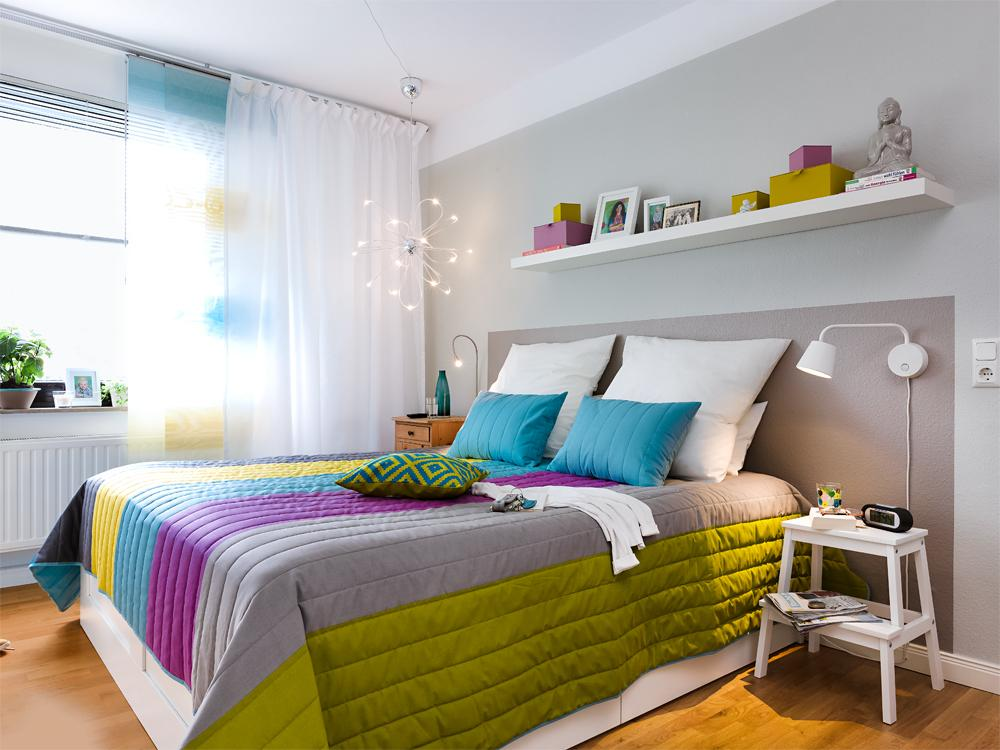 adelaparvu.com despre dormitor reamenajat, de la rustic la modern, Foto ZuHause Wohnen (1)