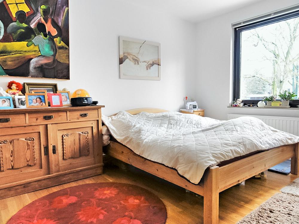 adelaparvu.com despre dormitor reamenajat, de la rustic la modern, Foto Zuhause Wohnen (10)