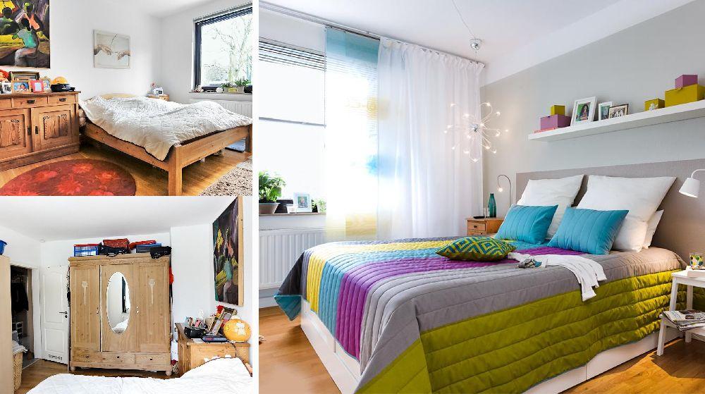 adelaparvu.com despre dormitor reamenajat, de la rustic la modern, Foto Zuhause Wohnen (27)