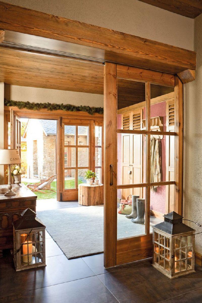 adelaparvu.com despre hambar transformat in casa, casa de munte Spania, designer de interior Maria Luisa Malagarriga, arhitectura Javier Trilla și Llorenc Olive, Foto ElMueble (1)