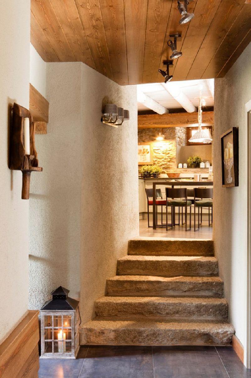 adelaparvu.com despre hambar transformat in casa, casa de munte Spania, designer de interior Maria Luisa Malagarriga, arhitectura Javier Trilla și Llorenc Olive, Foto ElMueble (10)