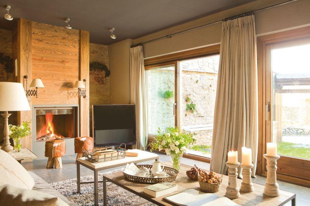 adelaparvu.com despre hambar transformat in casa, casa de munte Spania, designer de interior Maria Luisa Malagarriga, arhitectura Javier Trilla și Llorenc Olive, Foto ElMueble (4)