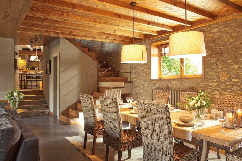 adelaparvu.com despre hambar transformat in casa, casa de munte Spania, designer de interior Maria Luisa Malagarriga, arhitectura Javier Trilla și Llorenc Olive, Foto ElMueble (8)