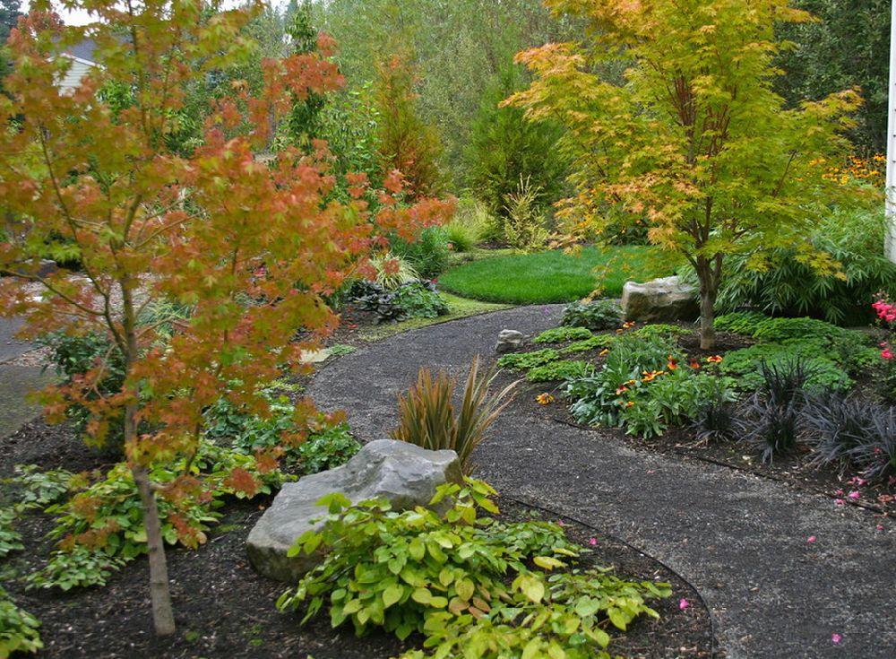 adelaparvu.com despre lucrari pentru gazon toamna, text Carli Marian, Foto Visionscapes NW Landscape Design