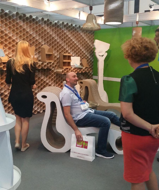 adelaparvu.com despre mobilier si corpuri de iluminat din carton, design Display Grup (12)