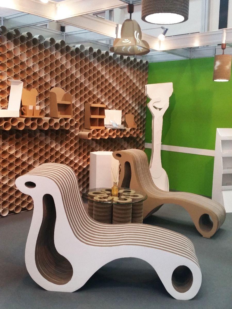 adelaparvu.com despre mobilier si corpuri de iluminat din carton, design Display Grup (8)