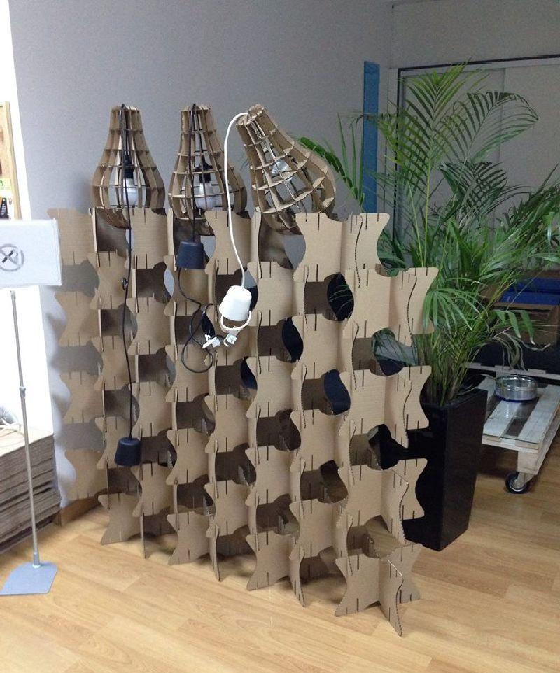 adelaparvu.com despre mobilier si corpuri de iluminat din carton, design Foldo (1)