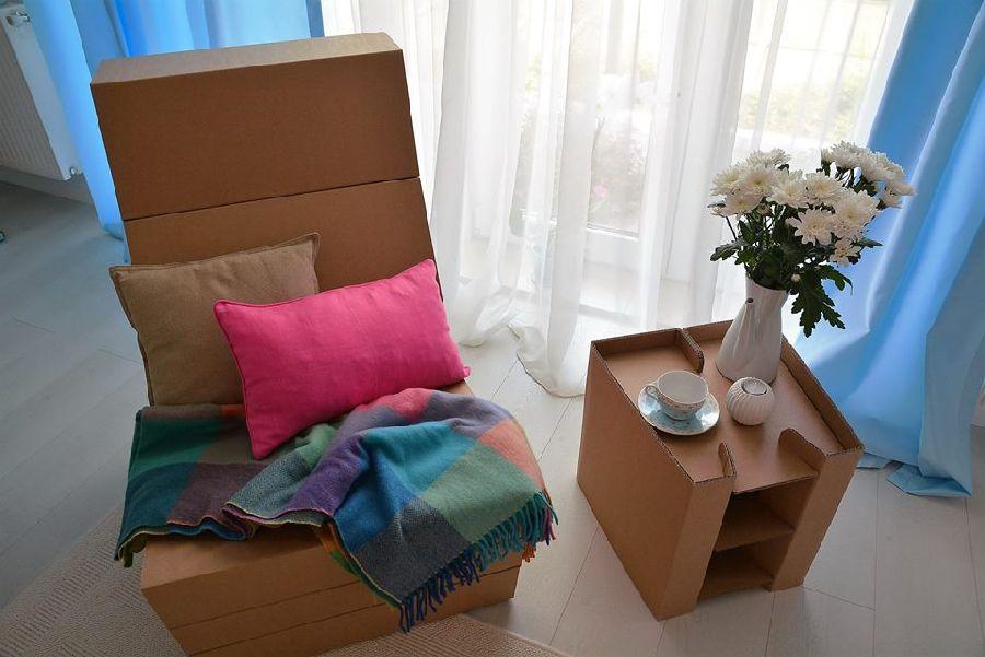 adelaparvu.com despre mobilier si corpuri de iluminat din carton, design Foldo (6)