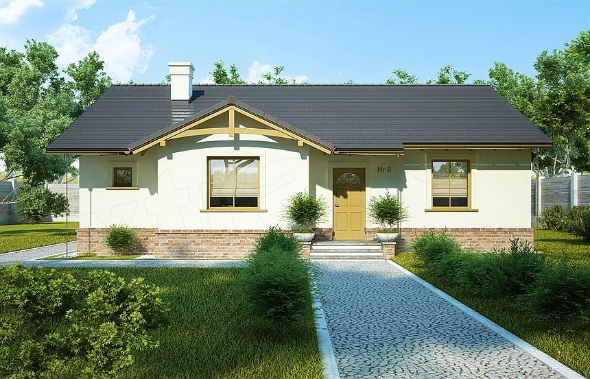 adelaparvu.com despre proiecte de case cu parter si parter si mandarda, Proiect extradom.pl Foto Extradom (5)