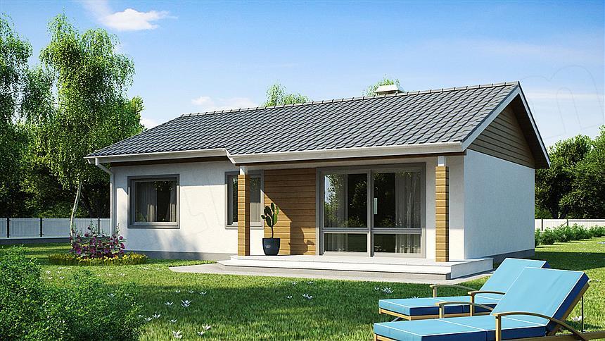 adelaparvu.com despre proiecte de case cu parter si parter si mandarda, Proiect extradom.pl Foto Extradom (6)
