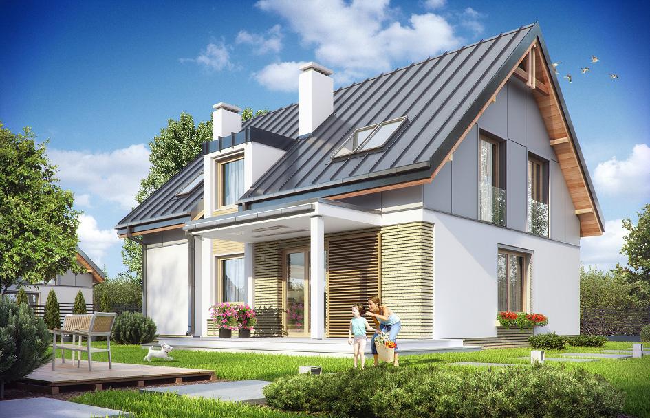 adelaparvu.com despre proiecte de case cu parter si parter si mandarda, Proiect mgprojekt.com.plFoto MGProject (2)